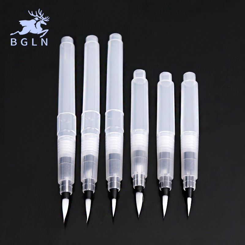 Students Portable Paint Brush Water Color Brush Pencil Soft Watercolor Brush Pen For Beginner Painting Drawing Art Supplies