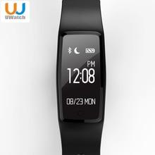 Uwatch S1 Bluetooth Смарт Браслет 5 цветов сердечного ритма IP67 Водонепроницаемый SmartBand браслет для Android IOS Телефон