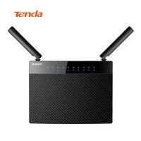 Tenda ac9 1200 м smart dual-Band 802.11ac 2.4 г/5 г Gigabit Беспроводной Wi-Fi роутера ретранслятор, чип Broadcom, английский/Европейский прошивки