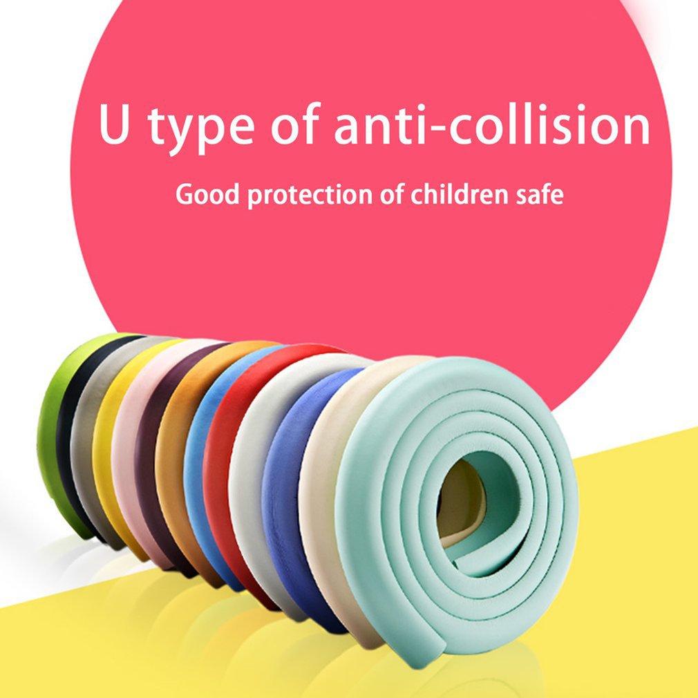 2M U Shape Extra Thick Furniture Table Edge Corner Protectors Desk Cover Protectors Foam Baby Safety Bumper Guard