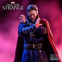 Vogue Super Hero Statue Doctor Strange Marvel Universe Film Avengers Infinity War Iron Studios 22cm Figure Figurine Toys