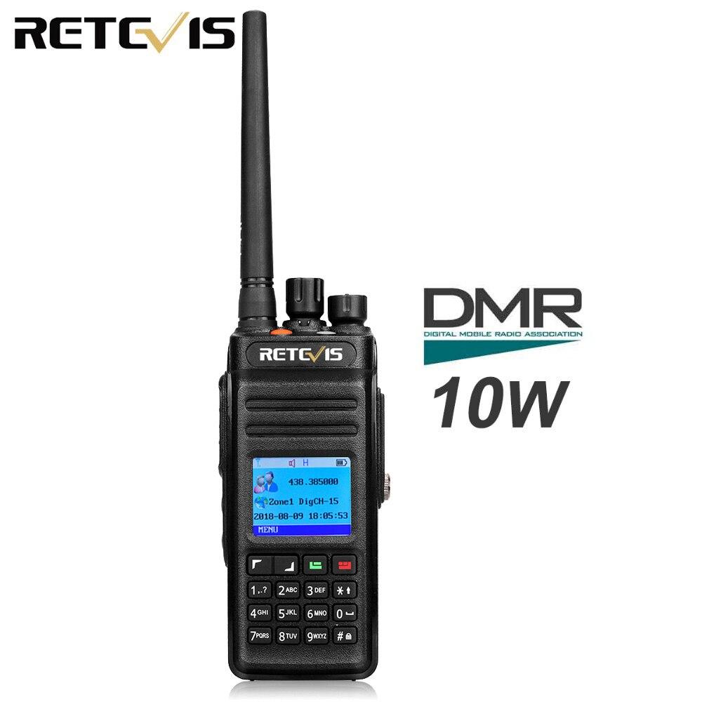 1pcs Retevis RT83 High Power Walkie Talkie DMR Digital Radio (GPS) IP67 Waterproof UHF 400-470MHz Digital/Analogue Two Way Radio