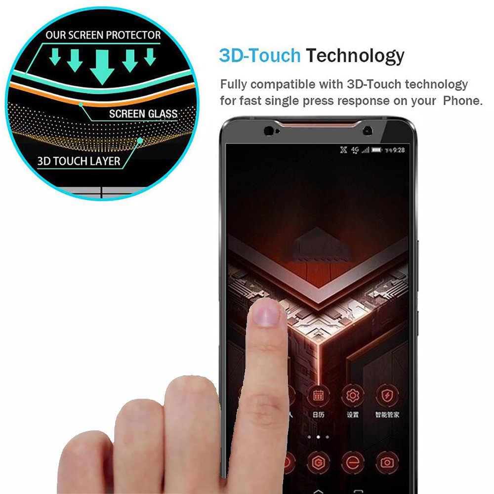 3D 9H מלא דבק מגן מסך 9 שעתי מזג זכוכית עבור Asus Rog טלפון ZS600KL HD מלא כיסוי מסך סרט הגנת זכוכית