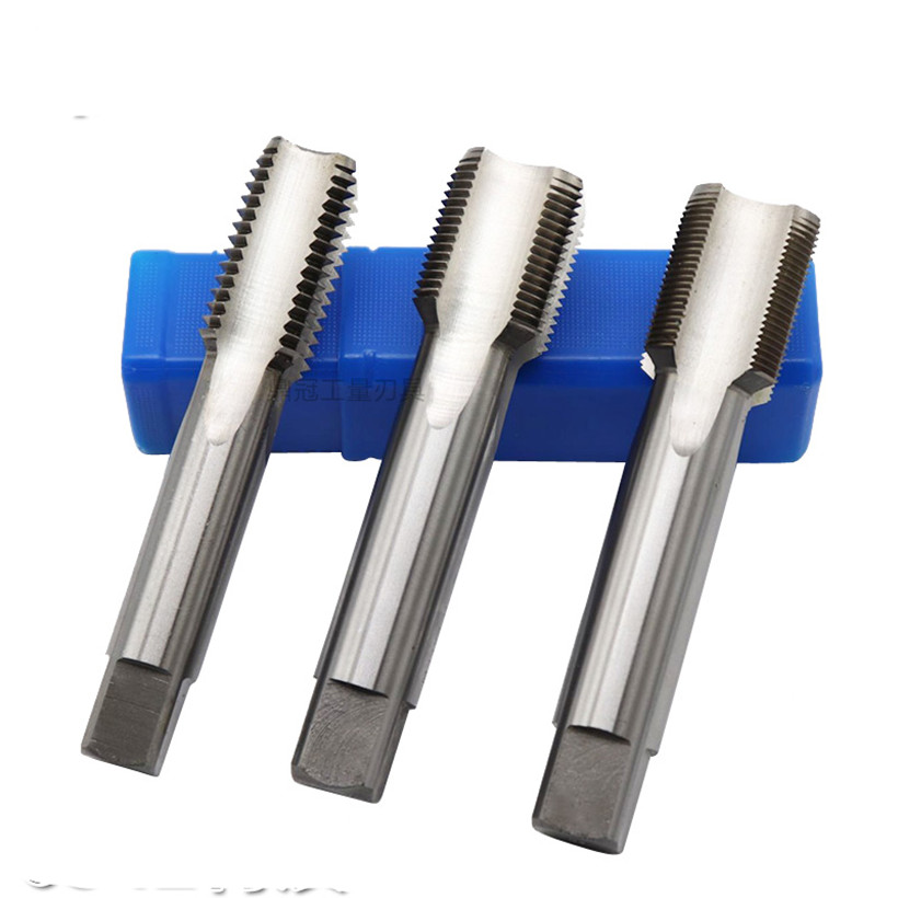 Image 3 - M24 M25 M26 M27 M28 M29 зубы = 1,0 1,5 2,0 3,0 мм HSS M2 машина обработки: сталь Бесплатная доставка-in Метчик с резьбой from Инструменты