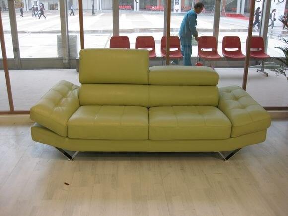 Kuh Echtes Leder Sitzgruppe Wohnzimmer Mbel Couch Sofas Sofa Modernes Verstellbare Kopfsttze 3 Sitzer