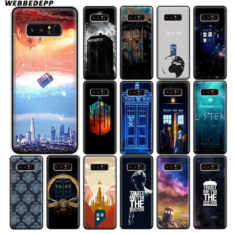 Genteel Webbedepp Box Doctor Who Soft Silicone Case For Samsung Galaxy A9 A8 A7 A6 Plus 2018 A5 A3 2017 2016 Note 9 8 Fitted Cases Phone Bags & Cases