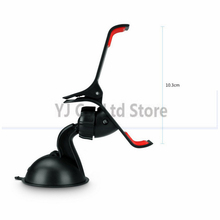 car-styling 360 Degree Rotating Car Sucker Phone Holder For GPS Mini Tablets MP4 Holder Stents Vent Mount Support For Cell Phone