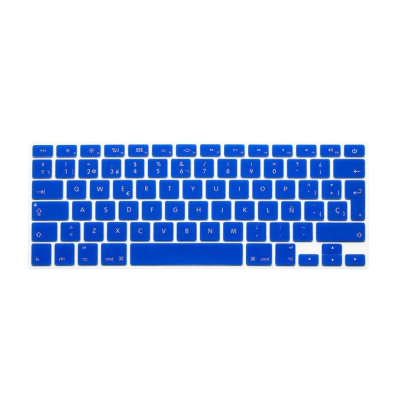 ESP Spanish Keyboard Skin Cover 3PCS For Macbook Mac Book 13 15 EU UK Europe Version Silicone Laptop Keyoboard Protector Film