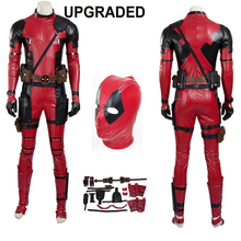 Hero Catcher High Quality Upgraded Deadpool Cosplay Costume New Leather Deadpool Costume Custom Made Hero Deadpool Suit