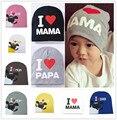 Новый бренд осень зима вязать хлопок теплый новорожденного Мальчика девушка Шляпы Малышей Младенческой Детские Шапки Конфеты Цвет Прекрасный Ребенок шапочки