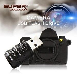pendrive 128 gb USB flash drive 4gb 8gb 16gb 32gb 64gb 128gb usb stick cartoon SLR camera usb flash pen drive 256 gb flash drive