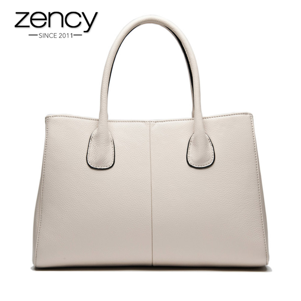 New Arrival <font><b>7</b></font> Colors 100% Soft Genuine Leather Fashion Women Handbag High Quality Female Casual Tote Office Ladies Business Bag