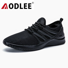 AODLEE Light Men Shoes Mesh Summer Sneakers Breathable Mens Shoes Casual Breathable Sneakers Men Walking Shoes zapatos de hombre