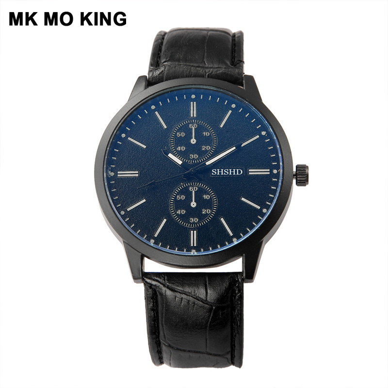 Hearty 2019 New Fashion Men Date Alloy Case Synthetic Leather Analog Quartz Sport Watch Mens Watches Top Brand Luxury Masculino Reloj Men's Watches Quartz Watches