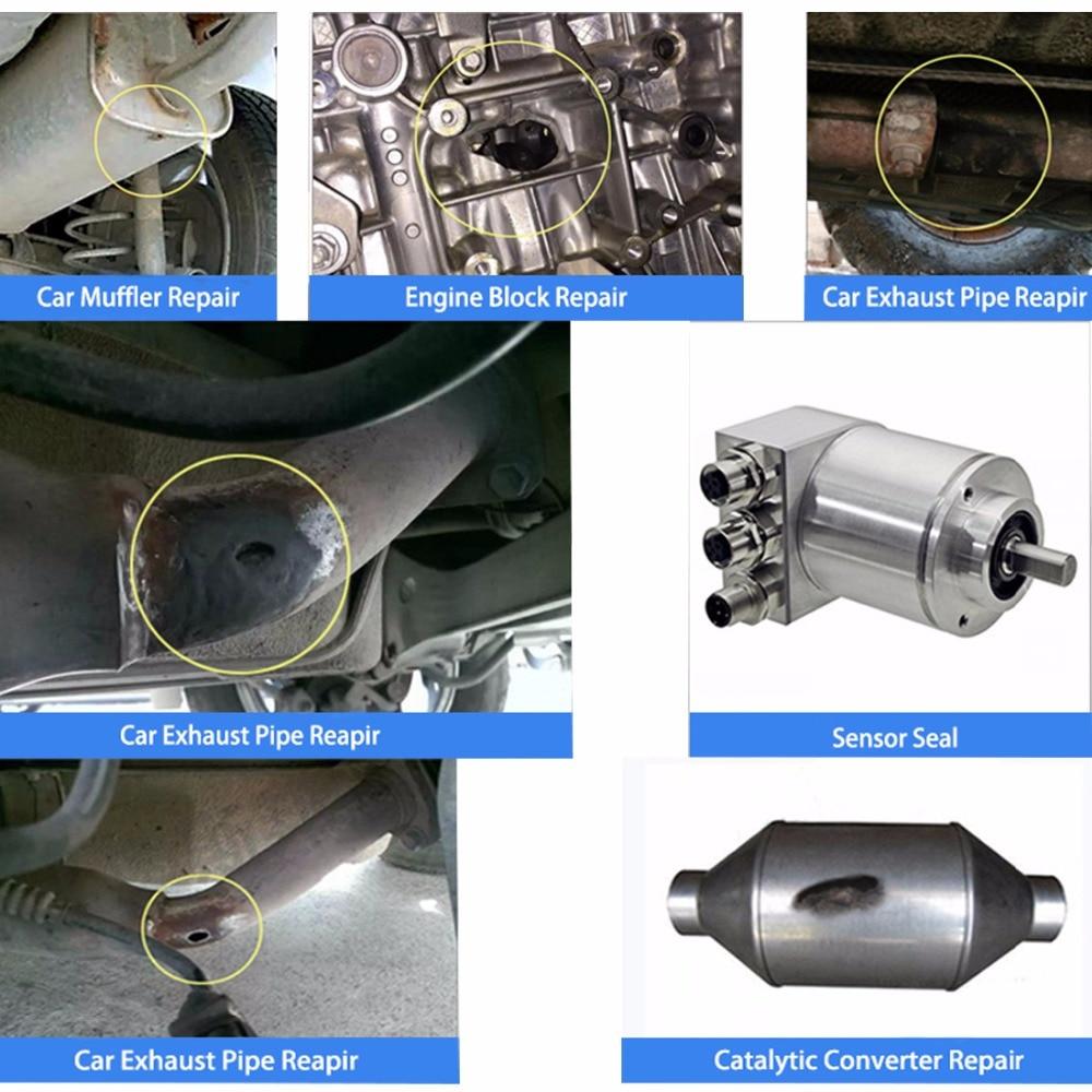 Kit di riparazione del tubo del sistema di scarico di Visbella - Set di attrezzi - Fotografia 2