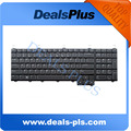 New For Dell Alienware M17X series Backlit US Keyboard With Green Flex Cable
