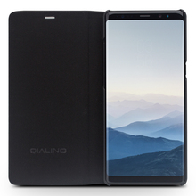 QIALINO Classic Pattern Leather Case for Samsung Galaxy Note 8