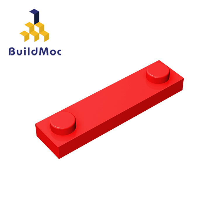 BuildMOC Compatible Assembles Particles 92593 1x4 For Building Blocks Parts DIY LOGO Educational Creative Gift Toys