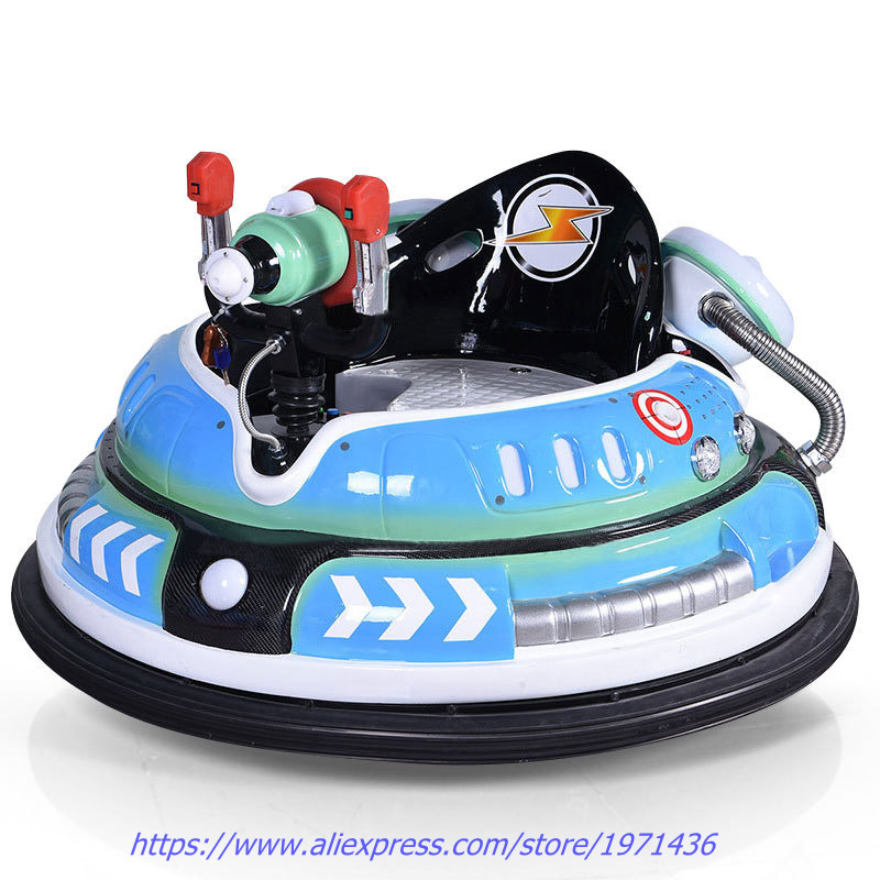 Amusement Device Park Equipment Laser Shooting Drift Battle Battery Operated Bumper Cars