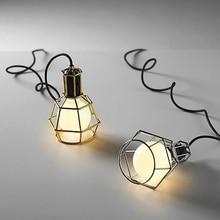 JAXLONG Designer Pendant Lights Country Retro Industrial Wind Bar Restaurant Lamp Decor Dining Room Luminaries hanglamp