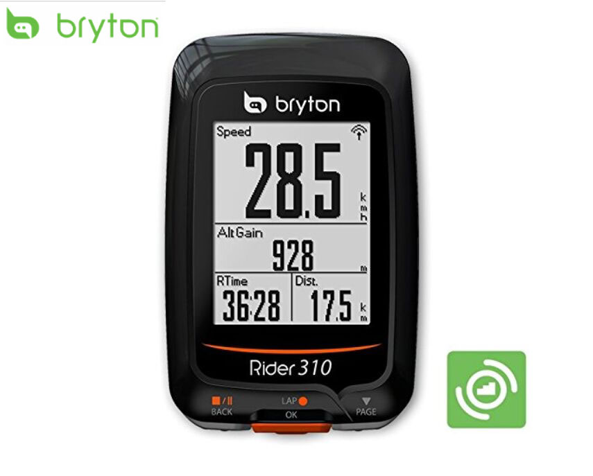 Bryton Rider 310 GPS Cycling Bicycle Computer Enabled Bike computer Waterproof wireless speedometer different to Garmin Edge