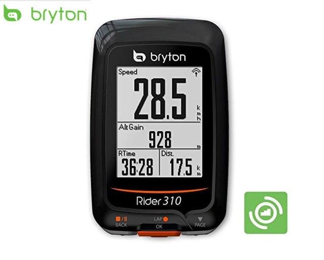 Gps Bike Computer >> Bryton Rider 310 Gps Cycling Bicycle Computer Enabled Bike Computer