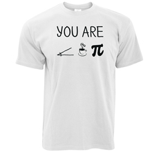 2017 Fashion Men'S Funny You Are Cutie Pie Science Maths School Present Gift Christmas Design T Shirt Cool Summer Tops