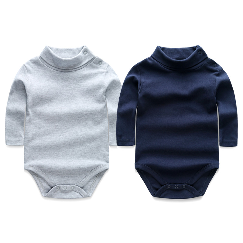 Baby Rompers 2pcs/lot Newborn Baby Girl Boy Clothes Long Sleeve Turn-down Collar Overalls Next Baby Costume for Cotton Jumpsuit baby clothes autumn winter baby rompers jumpsuit cotton baby clothing next christmas baby costume long sleeve overalls for boys
