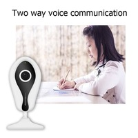 Wifi Camera 720P Panoramic 185 Fish Eyes Lens Degree Lens Home Security IP Camera Wireless Cam