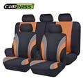 Чехлы для автомобильных сидений  цветные  спортивные  универсальные  для стайлинга автомобиля  полный комплект  подушка безопасности для са...