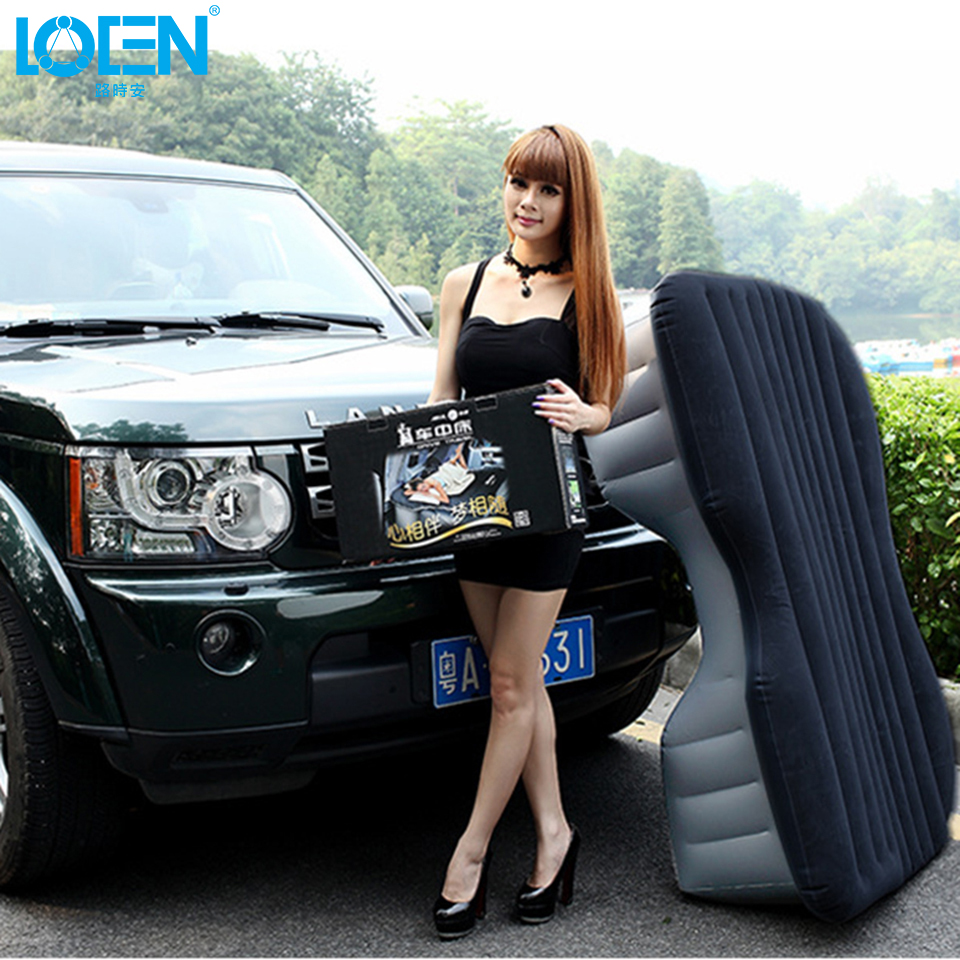PVC flocking Plush SUV Universal Car Travel Փչովի դոշակ - Ավտոմեքենայի ներքին պարագաներ - Լուսանկար 2