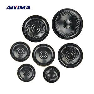 Image 1 - AIYIMA 10 adet Ultra ince hoparlörler 8 Ohm 0.5W boynuz hoparlör 20 23 28 30 36 40 50MM Mini hoparlör Diy