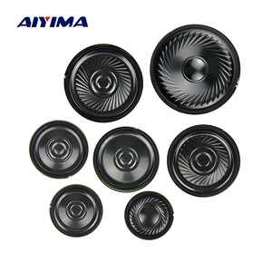 Image 1 - AIYIMA 10Pcs Ultra thin Speakers 8 Ohm 0.5W Horn Speaker 20 23 28 30 36 40 50MM Mini Loudspeaker Diy