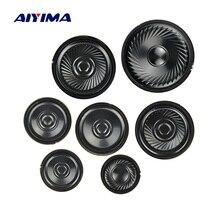 Aiyima 10 pçs alto falante ultra fino 8 ohm 0.5 w chifre alto falante 20 23 28 30 36 40 50mm mini altifalante diy