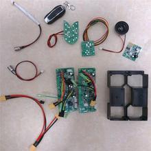 Hoverboard Doble Sistema de Control Junta PCBA Placa Base para 6.5 8 10 Pulgadas 2 Ruedas de Auto Equilibrio Scooter Eléctrico Patineta
