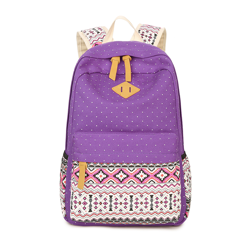 Back Pack Backpack Bag For Teenager Girls Women College Multi-Function Laptop School Bag Travel Bag Fashion Message Shoulder Bag