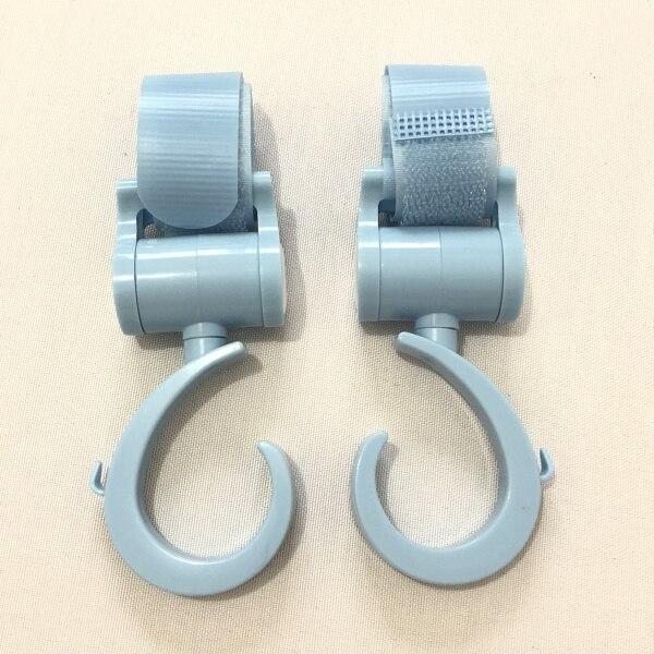 Коляска крючок-2 шт. многофункциональных крючков для угги или младенца перевозчика или велосипеда или подголовника автомобиля - Цвет: Blue 2 pieces