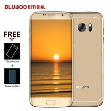 "Bluboo borde teléfono móvil 5.5 ""HD Doble Cara MTK6737 Curvilínea 4G LTE Quad Core 2 GB RAM 16 GB ROM 13MP Android 6.0 OTG huella digital"