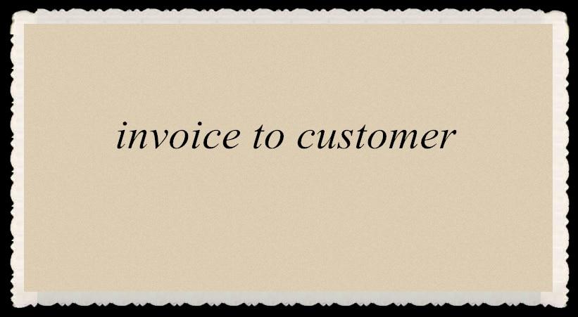 invoice for  customer jeff sauro customer analytics for dummies
