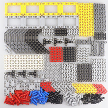 457PCS Technic Bulk Building Blocks Set All Beam Connector Adapter Parts Compatible Accessories Bricks Kid Enlighten Toy