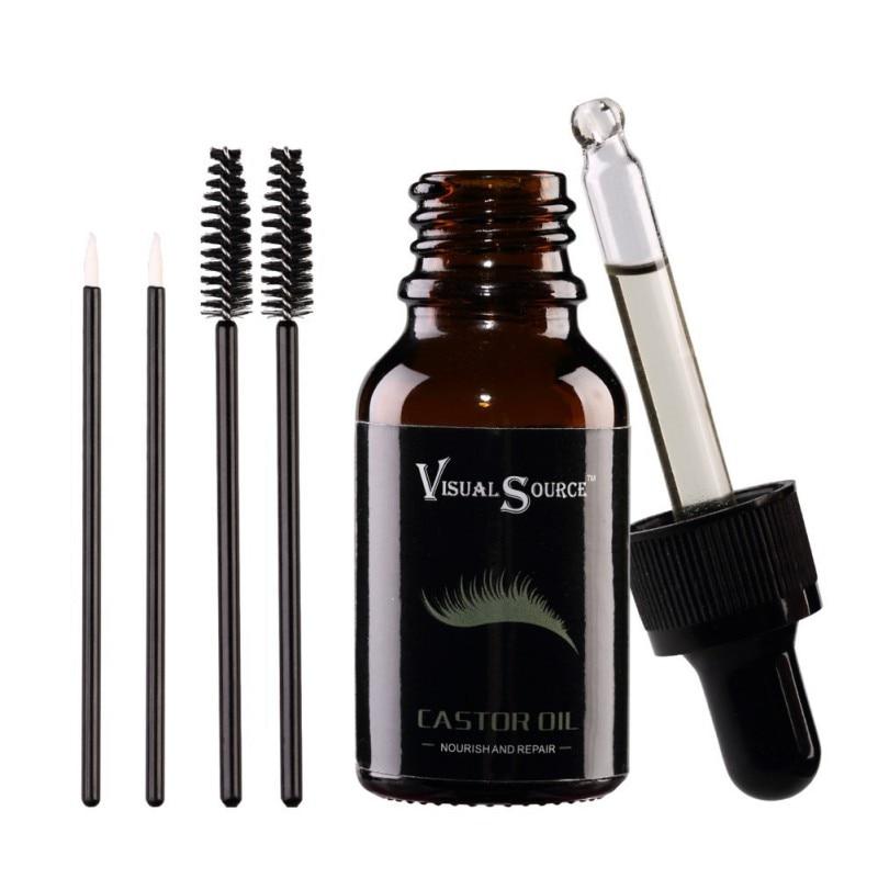 Hair Growth Essential Oil Castor Organic Eyelash Enhancer Growth Serum Prevent Skin Aging Body Care Black Castor Oil for