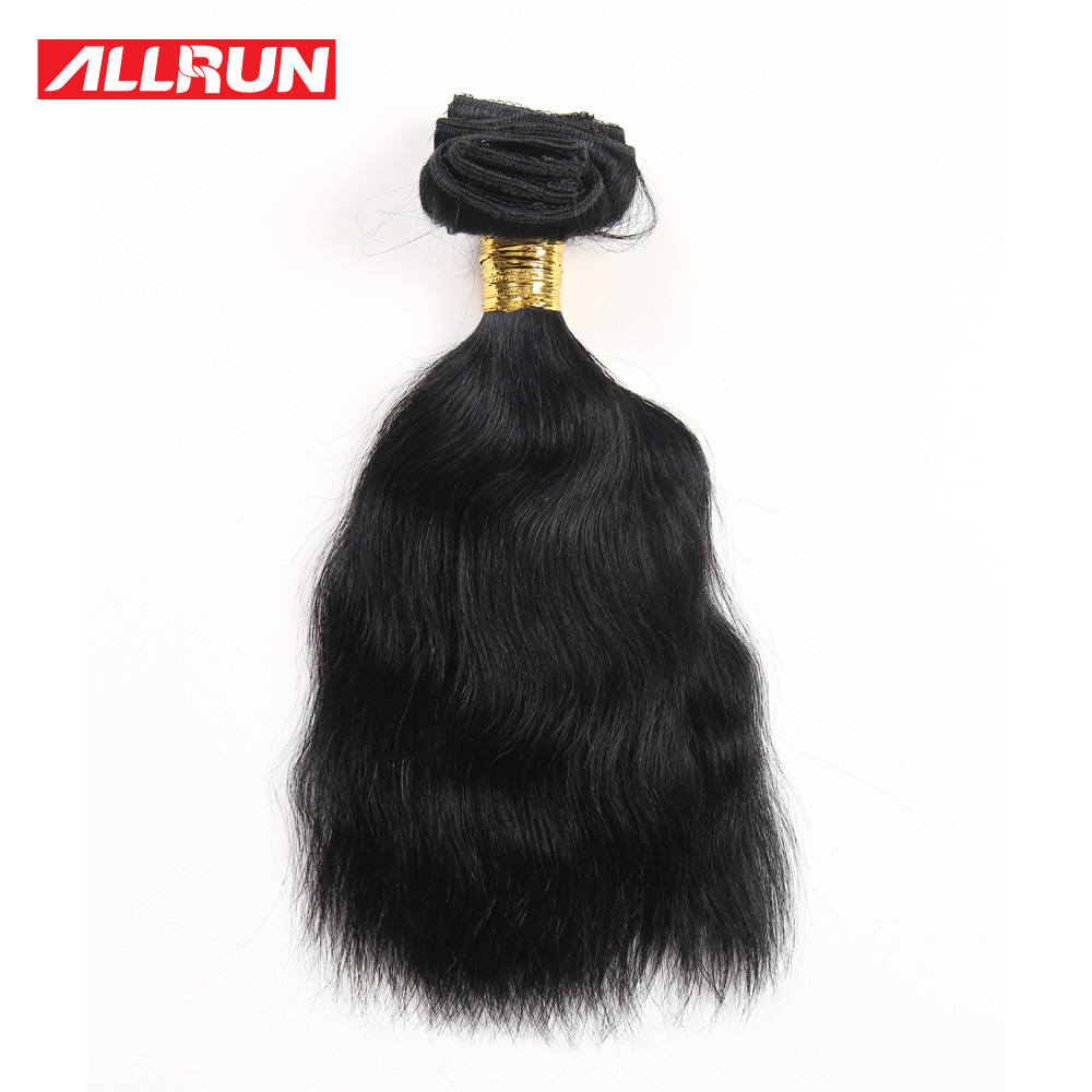 ФОТО New Arrival 7A Brazilian Hair Clip in Hair Extension 6pcs On Sale #1 Natural Wave Brazilian Human Hair Extensions with Promotion