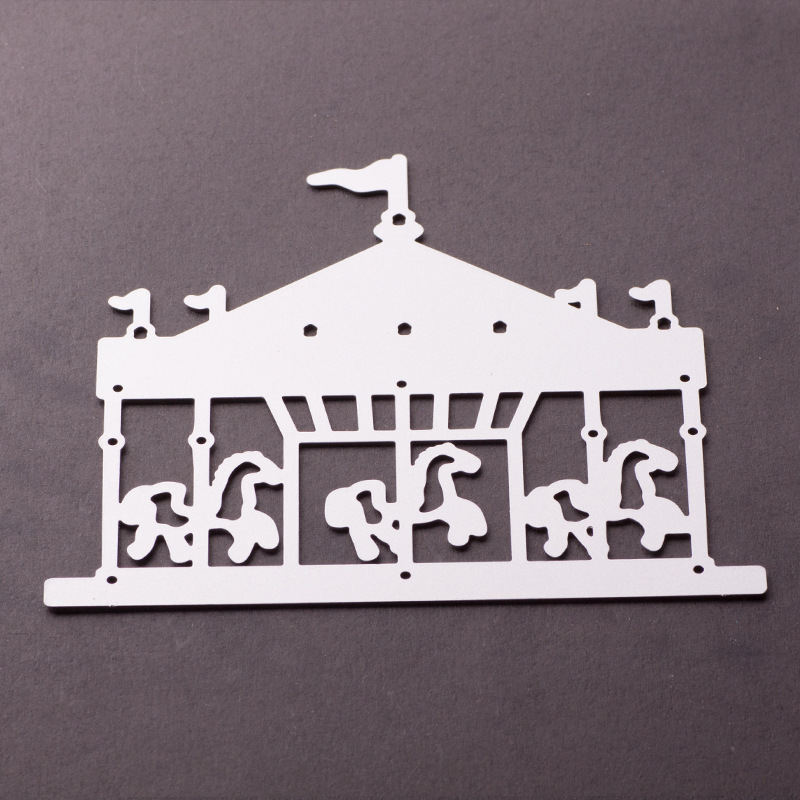 2018 New 3D Girl DIY Metal Cutting Dies Nouveau Arrivage and Scrapbooking For Paper Making Embossing Stamps Frame Card Craft
