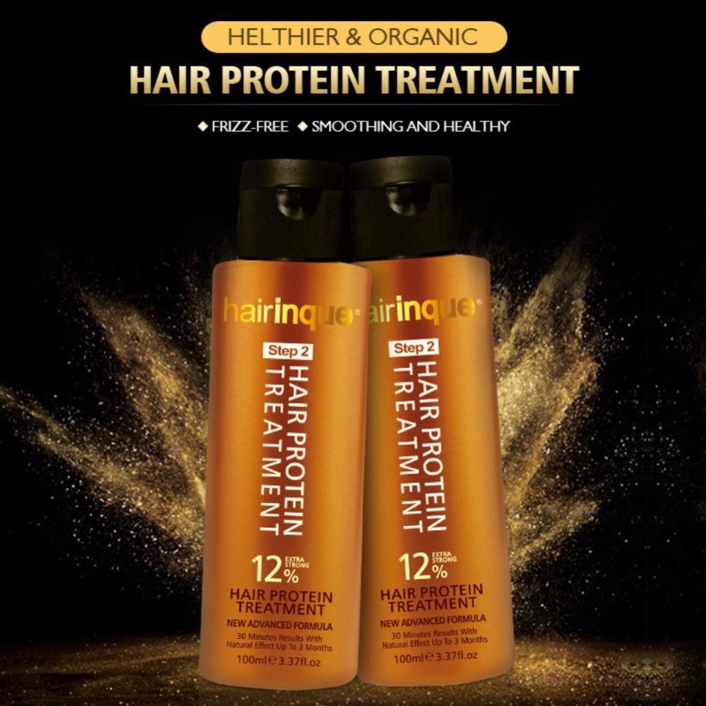 12 Keratin Hair Treatment Hair Repair Care Damaged Hair 30 Minutes Straighten And Smooths Hair Conditioners in Conditioners from Beauty Health