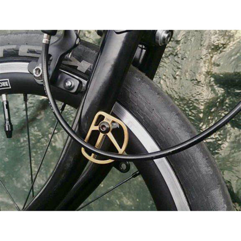 Bmwt kink linear Cable with strap for bmx mountain bikes brakes front back