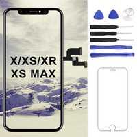 Für iphone X/XS/XS MAX/XR LCD Screen TM/AMOLED/OEM Qualität Display Digitizer ersatz Schwarz Keine Tote Pixel