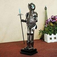 Homem de ferro Robô Guerreiro Samurai de Aço Mão no céu pintado de Ferro Artesanato 6058