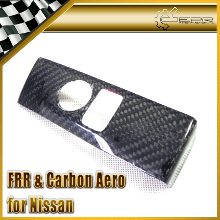 New Side Mirror Control Panel (LHD) For Nissan R35 GTR Carbon Fiber Car Accessories Racing new 2pcs side mirror cover for nissan skyline r34 gtt gtr carbon fiber car accessories car styling