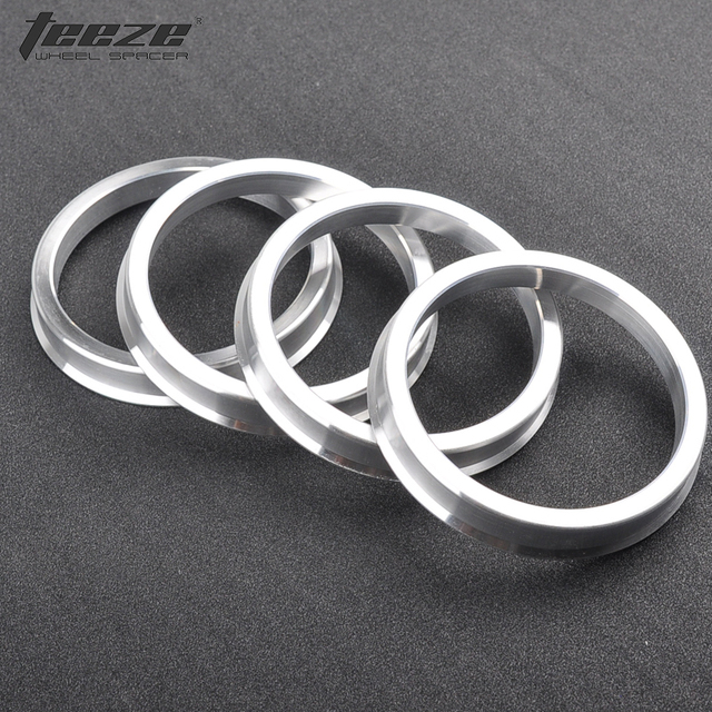 Aluminum Rings for car wheel accessories centric hub ring OD 60.1 to 58.1 center hub ring 4 pieces/set freeshipping