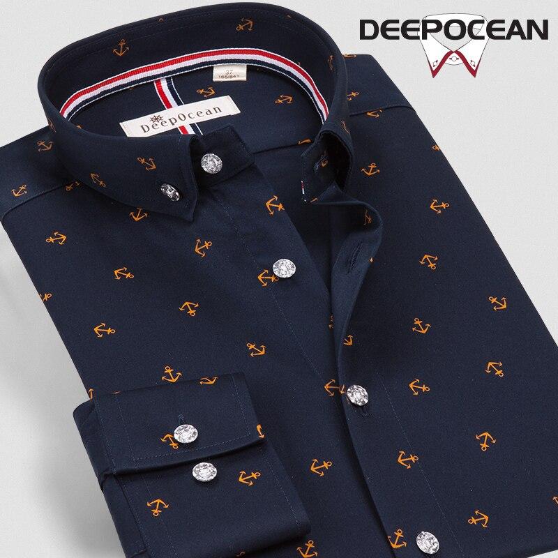 Chemises Casual ddx56645l Shirt Ddx56644l Slim Impression Chemise Mode Camisas De ddx56646l Coton Tops Fit Long Hommes X56644lk Printemps Hombres Affaires 4x18qH5